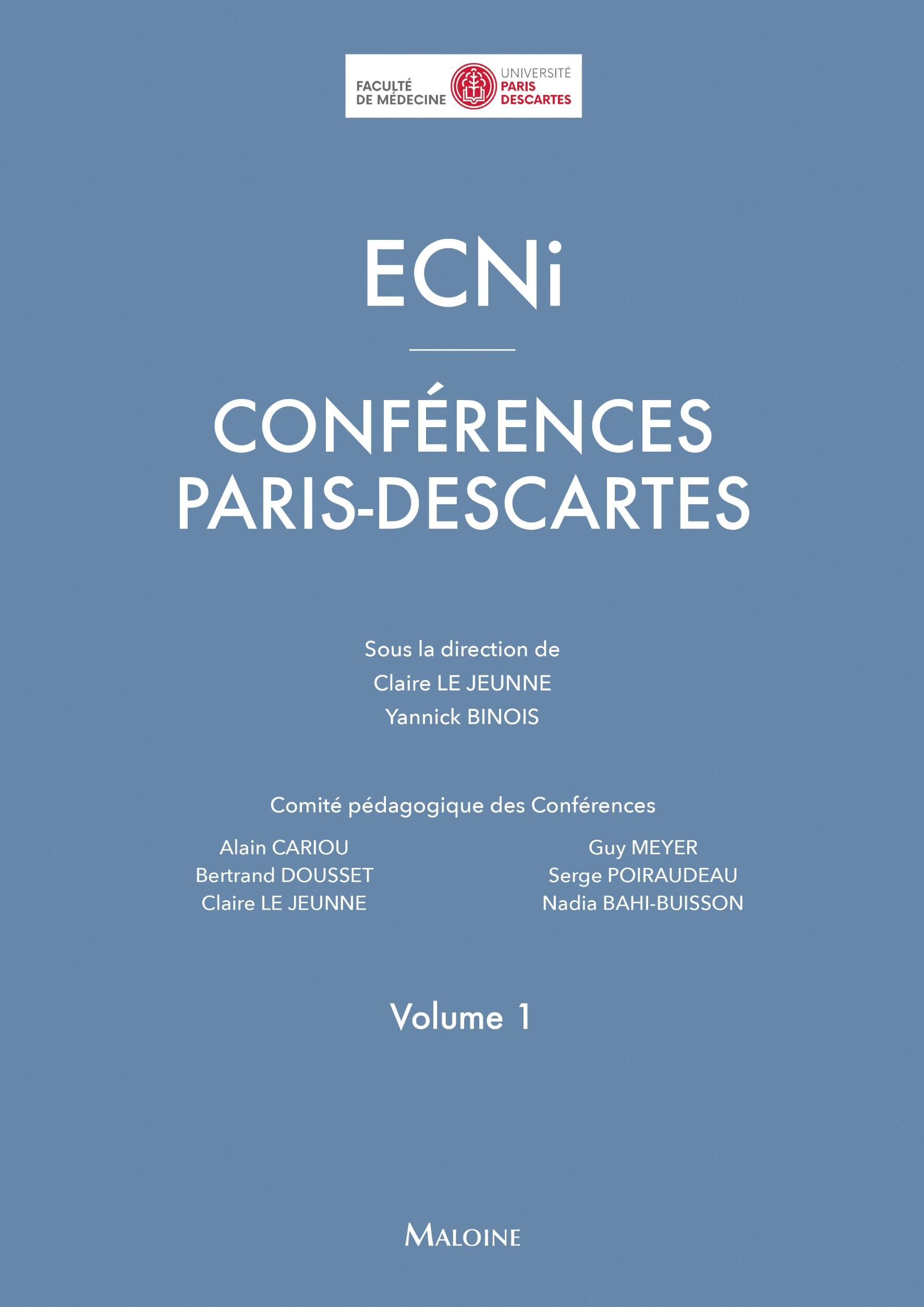 ECNi - Conférences Paris Descartes Vol. 1