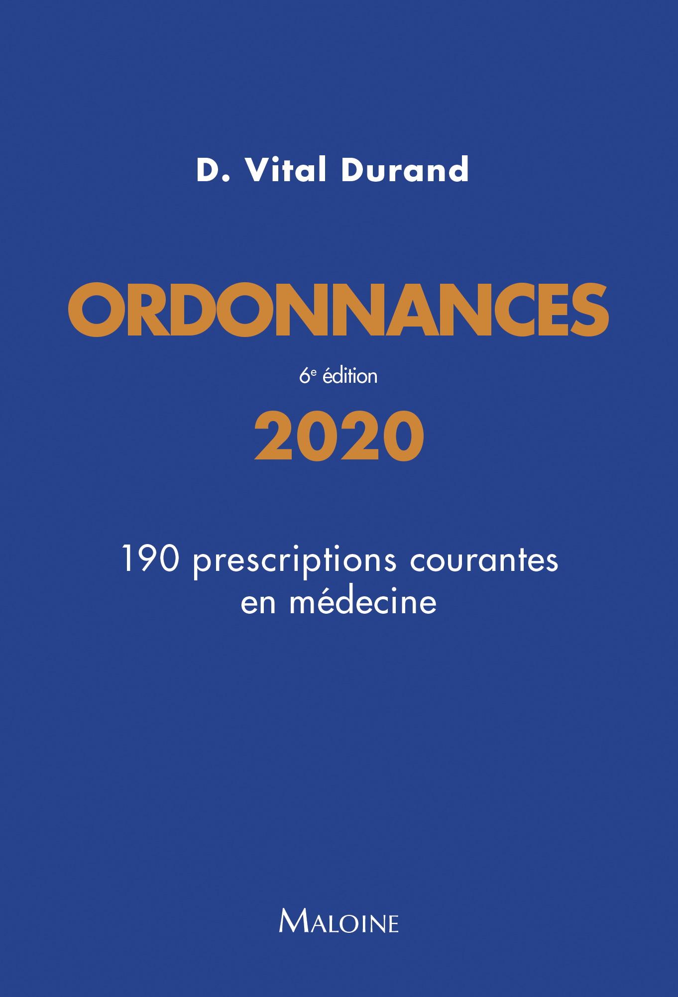 Ordonnances 2020, 6e éd.