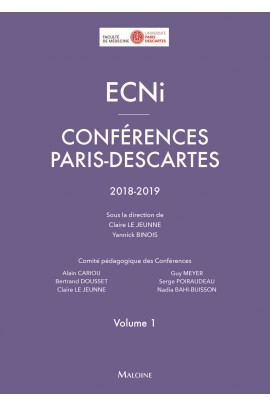 ECNi – Conférences Paris-Descartes – Volume 1– 2018-2019