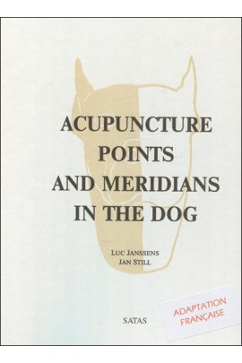 Acupuncture points and meridians in the dog. Adaptation française