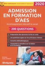 Admission en formation d'AES 2020: 200 questions